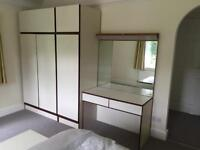 Stateroom by Stonehill Bedroom Furniture, wardrobe, dressing table etc