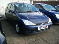 2004 FOCUS LX WITH EXTRAS NICE CAR TRADE IN TO CLEAR £395