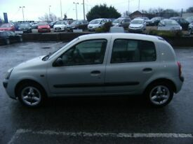 RENAULT CLIO 1.1 AUTHENTIQUE 8V 5d 58 BHP **** GUARANTEED FINANCE **** PART EX WELCOME