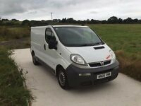 2005 SWB VAUXHALL VIVARO 2.5 CDTI WITH LONG MOT, CAMBELT REPLACED, TOW BAR, SERVICE HISTORY.