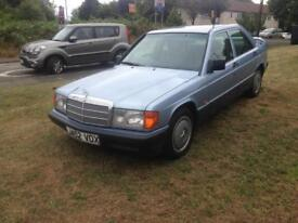 92/J MERCEDES 190E 4DR AUTOMATIC SALOON