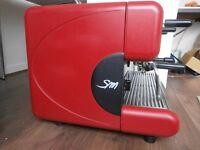 COFFEE MACHINE SAN MARCO 2 head semi automatic