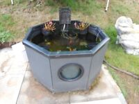 Blagdon Affinity Octagon Mocha Weave Pond