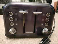Morphy Richards - Titanium 'Accents' 4 slice toaster
