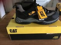 Caterpillar steel toe trainers