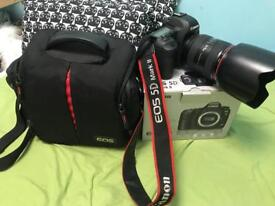 Canon 5D mark ii + 24-70mm canon Lens