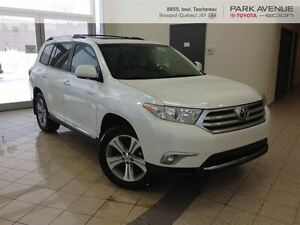 2013 Toyota Highlander V6 Limited ** JAMAIS ACCIDENTEE ** CUIR *