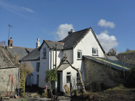 3/4 bed character cottage in the heart of a north Dartmoor village Nr Okehampton and Exeter