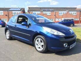 2007 Peugeot 207 , 1.4 petrol with only 85k on the clock