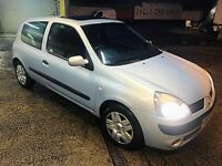 2004 Renault Clio 1.1 MOT 11/17 low miles! Ideal first car!