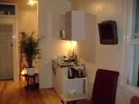 Kemptown studio, GCH, separate sleep area, for 5 month max - ALL INCLUSIVE