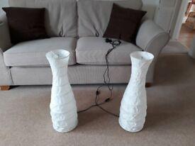 2 IKEA FLOOR LAMPS