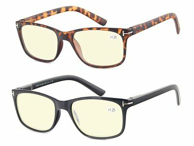Computer Glasses Set of 2 Anti Glare Anti Reflection Stylish (Stylish Computer Glasses)
