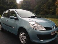 Renault Clio rip curl 5door 1149cc year 2008 2 owners from new