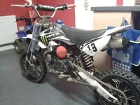125cc pit bike / pitbike not stomp 140 quad crf ktm demon x