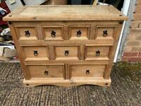 9 drawer chest drawers