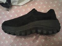 Size 4 Ladies Mega chunky Suede style shoes- Brand New
