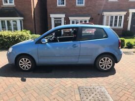 VW Polo 3 door hatchback 1.4 blue 11 Months MOT
