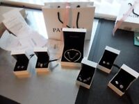 AUTHENTIC PANDORA BRACELET & CHARMS NEW WITH RECEIPTS ( SELL SEPERATELY READ LISTING FOR PRICES )