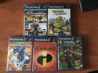 Collection of 5 ps2 games