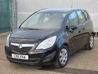 2011 (11 reg), Vauxhall Meriva 1.7 CDTi 16v S 5dr