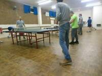 Table Tennis/Pool Table
