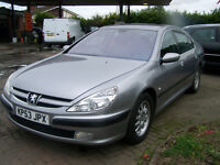 STUNNING IMMACULATE 607 EXECUTIVE HDI PEUGEOT MASSIVE SPEC ONLY £1295