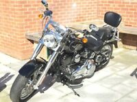 Harley Davidson FLSTF Fatboy 1690cc, low mileage, MOT'D 31st Oct 2018, Great condition!