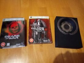 Gears of War 1, 2 and 3, Limited Editions, Xbox 360