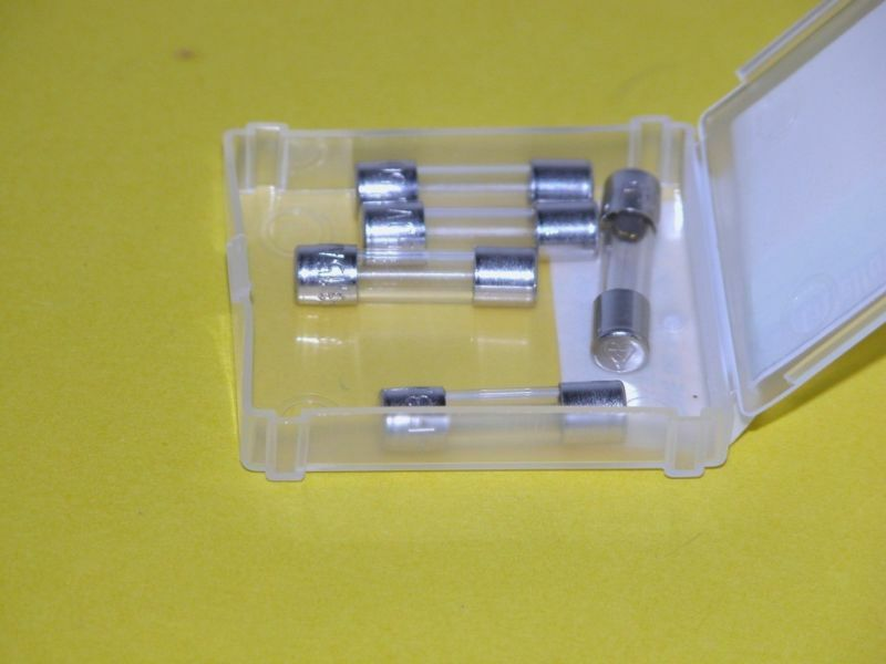 5pk - 125mA/250V  Fuses  - Littelfuse (tm) (F1037)