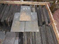 Reclaimed Roof slates 18x9 roof slates