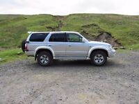 Toyota Hilux Surf 4x4 petrol 2.7 2001 - low mileage