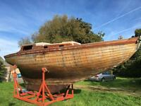 Folk boat
