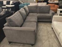 New grey Copenhagen corner sofa