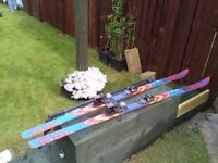Ski K2 MSL Sidecut 10.0, 200cm, salomon bindings. Comes with poles