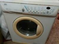 Washer dryer zanussi 6kg