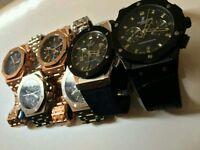 -Audemars piguet- Hublot - Rolex - High quality watches-