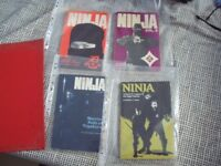 Ninja Books x 8-Dr Masaaki Hatsumi & Stephen K Hayes