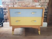 Vintage G-plan chest of drawers