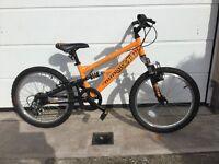 """Apollo Stomp Child's Mountain Bike 20"""" Wheel 6 speed"""