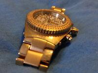 Aqua Master Men's Tachymeter Diamond Watch
