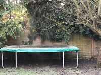 Rectangular trampoline for sale 5m x 3 m with cover