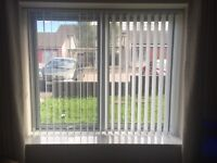 Various verticals and roller blinds for sale