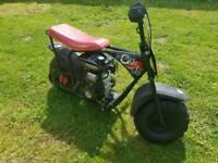 80cc petrol big wheel sand bike kids motorbike (not 125cc 110cc pitbike)