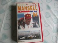 Job lot of Five motorsport VHS Video Tapes Inc F1/Rally/Indycar/Moto Gp/NASCAR
