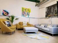 M&S Conran 5 piece suite REP £3500