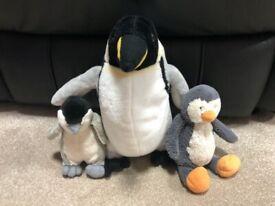 £1... Family of penguins