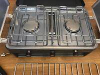 Sunngas grillmaster double burner & grill