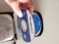 """""""FELLOWES"""" CD/DVD TRAVEL CASE holds 12"""