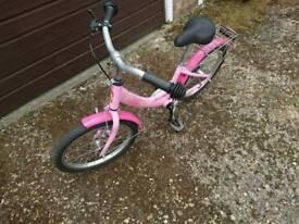Girl's bike age 4-6